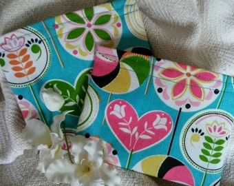 "Kid's Snack Bag, Reusable Snack Bags, Reusable Sandwich Bags, Eco Friendly Bag, Grab Bag Gift, Party Favor, ""Lollipops!"""