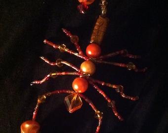 Orange Beaded Scorpion