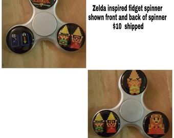 Spinner fidget inspiré de Zelda