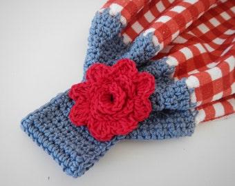 Dish or Tea Towel Topper Crochet Pattern