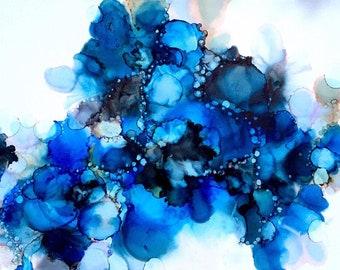Postcard Blue Blossom