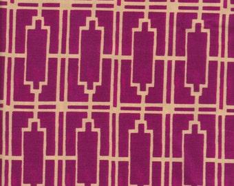 1/2 yd. haven's edge - walls, violet
