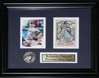 Roberto Osuna Toronto Blue Jays 2 card frame