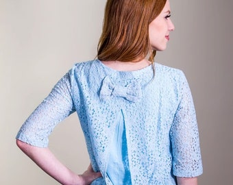Lace Maternity and Nursing Blouse