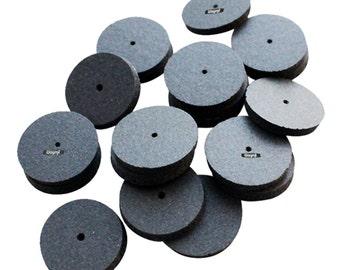 Initial Polishing Square Edge Wheels Pkg 20 Pcs Grit Medium Jewelry Abrasives Wa 100-862