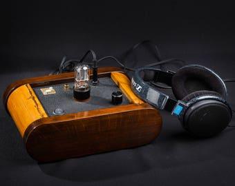 "New! PCM5102A, XMOS.Tor Audio ""Rick"" Tube DAC, preamplifier, headphone amplifier."