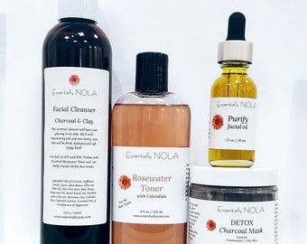 Cleanse - Acne / Oily Combination / Skin Care Set /Sample Size