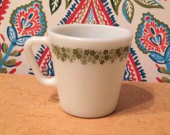 PYREX Spring Blossom Green (1972-1978) Mug