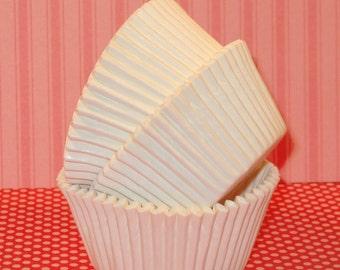 White Cupcake Liners  (45)