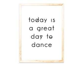 Poster, quote, dance, Nordic, dancing, saying, quote