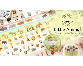 Washi Tape - Round Top Little Animal Masking Tape Series