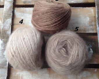 NEW!  Soft Yarn  Mohair Kid mohair Soft mohair Baby Mohair 25 gr skein Mohair yarn 27 colors