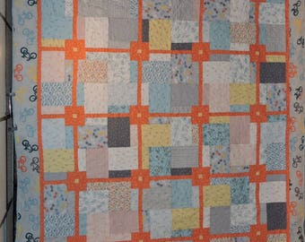 Hand made bycicle quilt