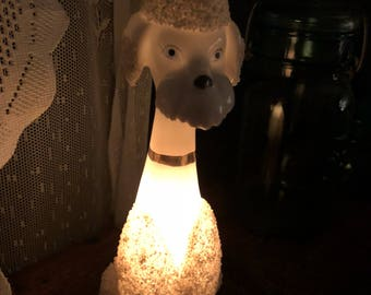 1950's Poodle Light