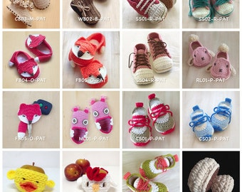 Crochet Pattern Baby Booties Crochet Patterns Preemie Shoes Newborn Socks Home Slipper Baby Accessories Crochet Tutorial Booty Toddler Kids