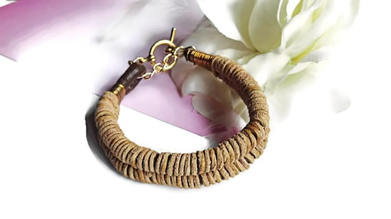 Leather bracelet for woman