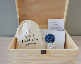 Baby Keepsake Box - Filled