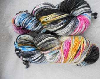 Hand Dyed Yarn, Hand Painted Yarn - Sunset Highway