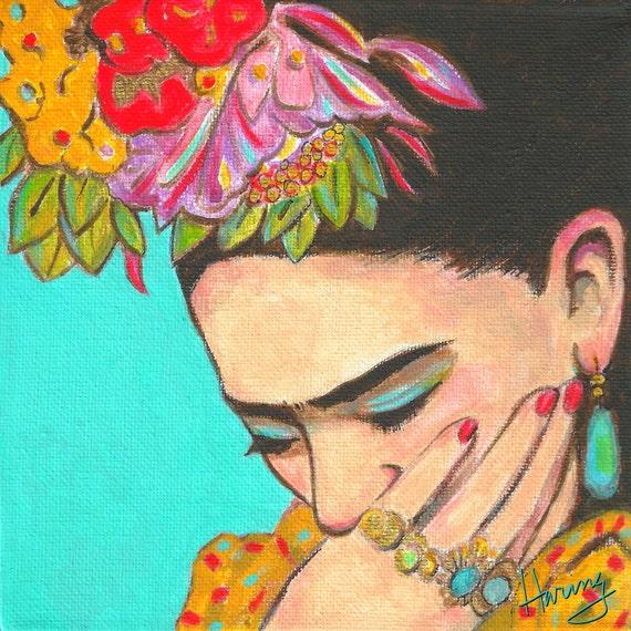 Mexican Art Print 30% Off Canvas Wrap Mexican folk art