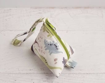 Dinosaur Pacifier Holder Boy   Plush Pacifier Holder Bag   Baby Pacifier Pod   Pacifier Strap Pouch   Pacifier Case   Dinosaur Baby Shower