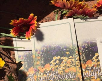 50 Wildflower Seed Packets