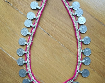 Siya Necklace vintage coin necklace