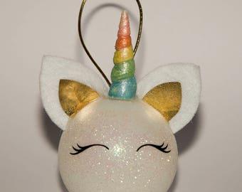 Unicorn Christmas Bauble DIY kit ( bauble not incl )