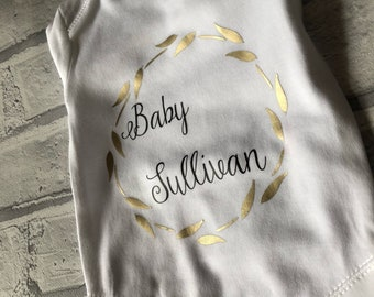 Baby announcement vest / big brother announcement / big sister announcement