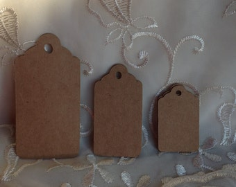 Tags, Kraft gift tags, Kraft rustic tags, Christmas Gift Tags. 3 sizes available.