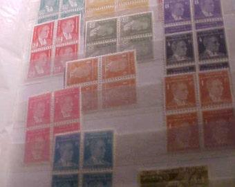 Turkish Stamps vintage 40s 70s  261 ct in Album