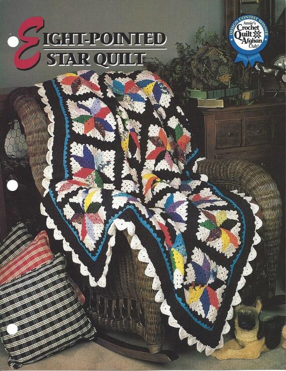 Excepcional Estrella De Ganchillo Patrón Afgano Ornamento - Ideas de ...