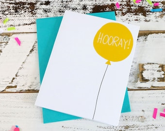 Hooray - Card