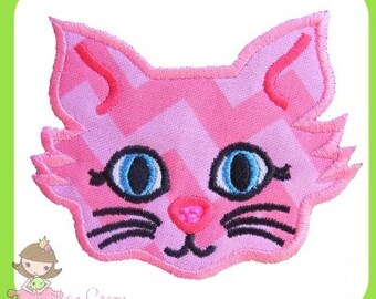 Kitty cat Applique design