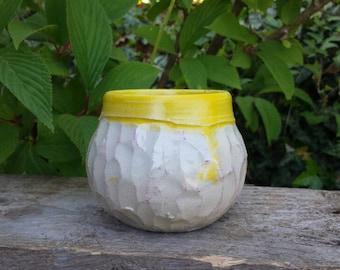 Ceramic mug//Vase//handmade//unique gift//