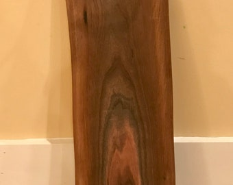 Handmade, one of a kind, Black Walnut Cheese or Serving Tray