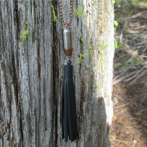 Tassel Bullet Necklace