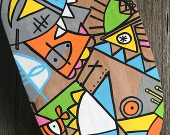 Skateboard Deck - Home Decor - Wallart