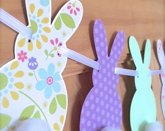 Cotton Tail Bunny Banner