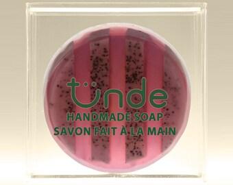 Blueberry handmade natural soap