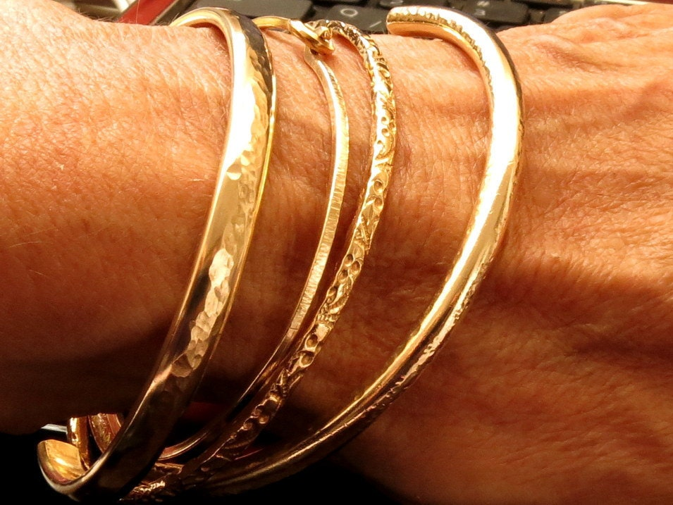 the spotted bangle designer stacked to stacking fashion bracelets fede bangles guide vita stackable