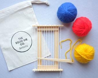 Mini Wooden Weaving Loom Kit (Frida)