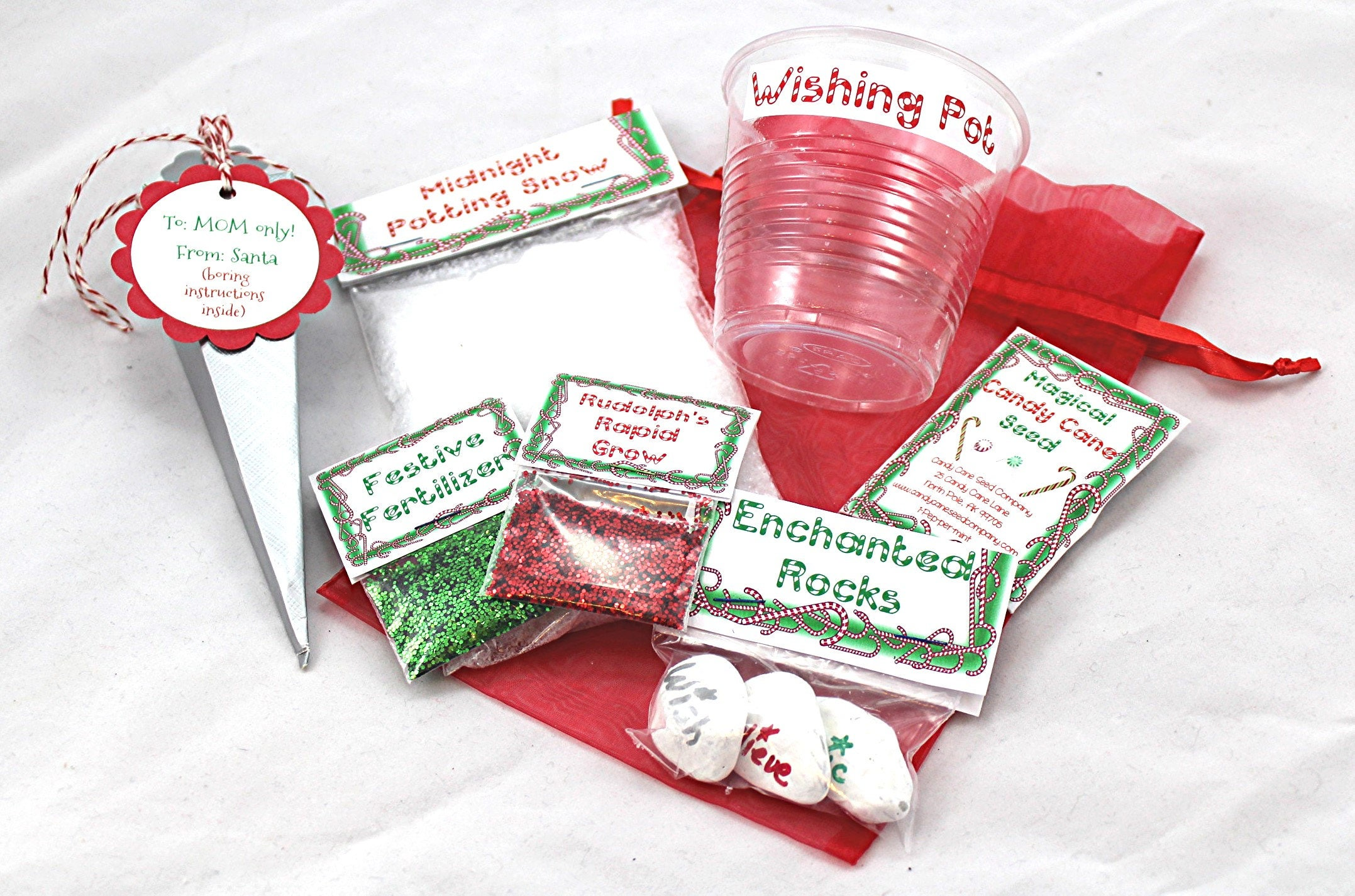 Christmas Garden Christmas Tradition Candy Cane Seed Kid