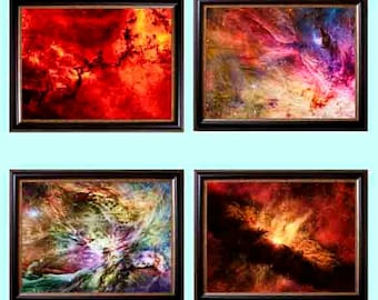 Space art Astronomy art poster Space poster Outer space print Office decor Wall print Abstract art Astronomy gift Galaxy print outerspace