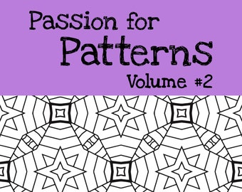 15 Patterns Coloring Pages  (#2)