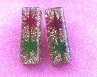 Atomic Starburst Earrings