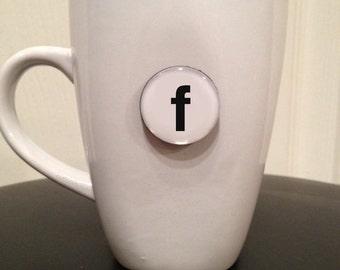 Quote | Mug | Magnet | Letter 'f'