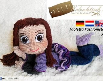 Violetta Fashionista - Crochet Pattern