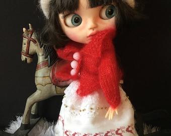"""OOAK Custom Blythe Art Doll """"Holly"""" by Bravura Dolly"""