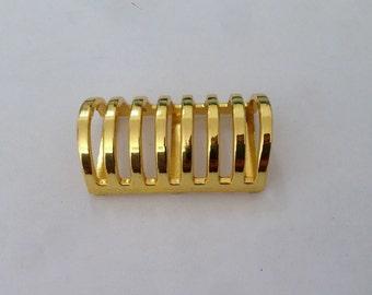 4 Golden Metal Decoration Slider