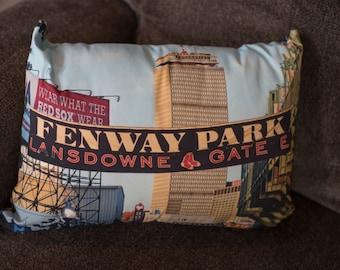 art throw march map pillow fine watercolor america shop pillows boston irina